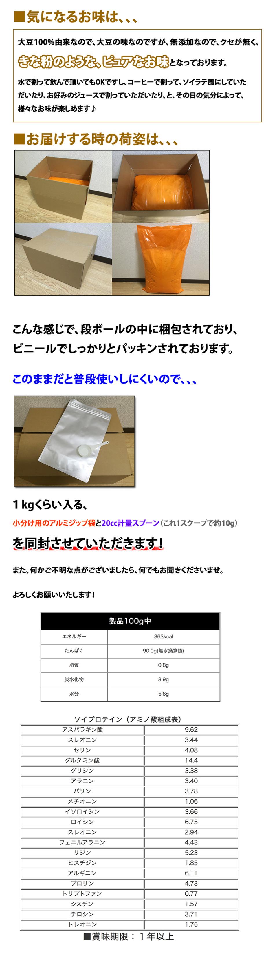 ピュア・ソイプロテイン10kg_5